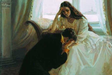 L. Timoshenko Illustration for Eugene Onegin