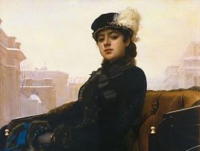 Kramskoy 'Portrait of a Woman'